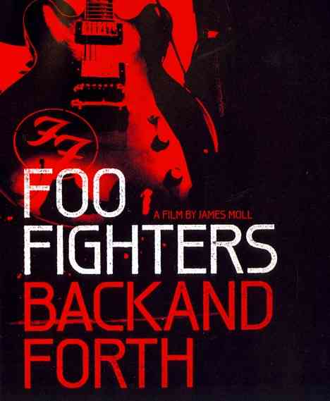 BACK AND FORTH BY FOO FIGHTERS (Blu-Ray)